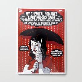 MyChemical Romance 02 Metal Print