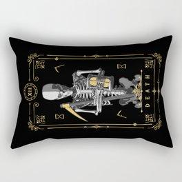 Death XIII Tarot Card Rectangular Pillow