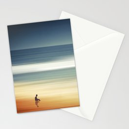 Pondering Silence Stationery Cards
