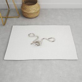 Brain teaser metal Rug