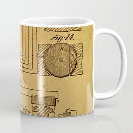 Tesla electromagnetic motor Coffee Mug
