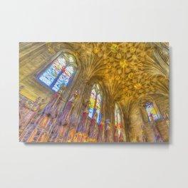 Scottish Chapel Art Metal Print