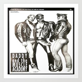 Tom of Finland - Daddy and the Muscle Academy Kunstdrucke