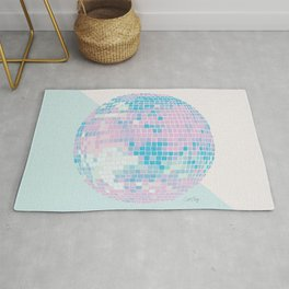 Disco Ball – Pastel Rug