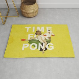 Time For Pong Rug