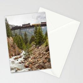 Colorado Mountain Train Georgetown Loop Railroad Stationery Cards