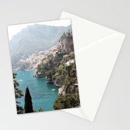 Amalfi Coast - Italian Beach - Italy Stationery Cards
