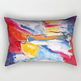 Come Down Isaiah 64 Christian Abstract Rectangular Pillow