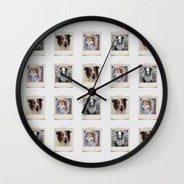 Three Bs Wall Clock