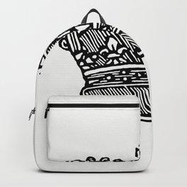 Vintage Victorian style crown Backpack