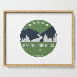 Ozark Highlands Trail Serving Tray