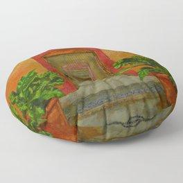Portals to Paradise Floor Pillow