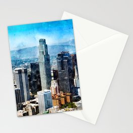 Los Angeles Art, California Stationery Cards