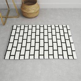subway tile Rug