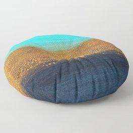 Ocean Tides Floor Pillow