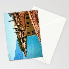 Limone Sul Garda Lake Garda Italy photo painting  Stationery Cards