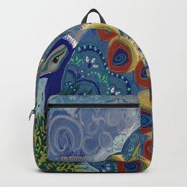 Royal Sir Peacok Backpack