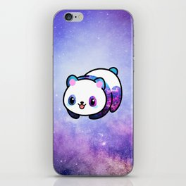 Kawaii Galactic Mighty Panda iPhone Skin