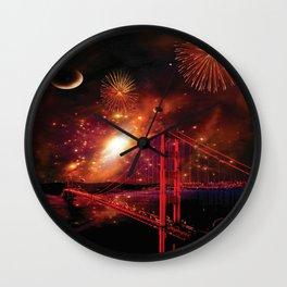 Left My Heart in San Francisco Wall Clock