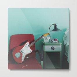 guitar nap Metal Print