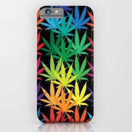 Cannabis Rainbow iPhone Case