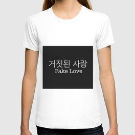 Fake love - BTS T-shirt