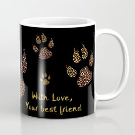 Cute paws for animal lovers Coffee Mug
