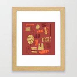 Hibok-Hibok Framed Art Print