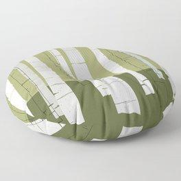 Quiet Birches Floor Pillow