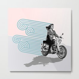 MOTO Margret Style Metal Print