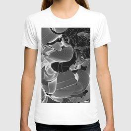 Metamorphosis Invert #1 Abstract Art Line T-shirt