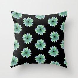 Geo Spring Flowers 04 Throw Pillow