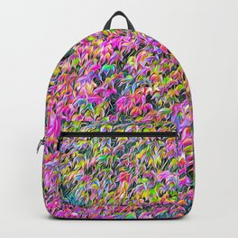 Red ivy in Provence Backpack