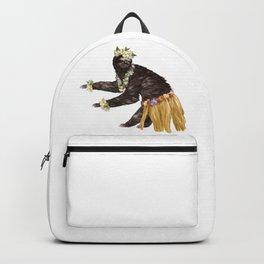 Sloth the Hawaiian Dancer Backpack