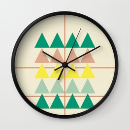 disguise forest || early summer Wall Clock