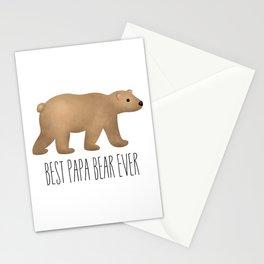 Best Papa Bear Ever Stationery Cards