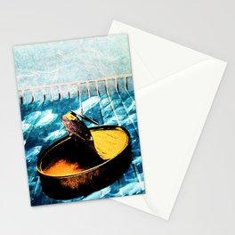 Nada en la nevera Stationery Cards