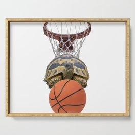 Sports Basket Ball Turtle Tortoise Serving Tray