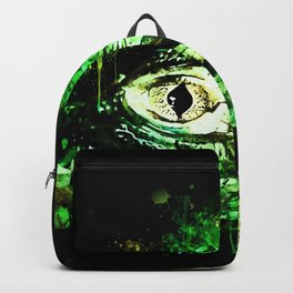 alligator baby eye wsb Backpack