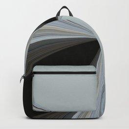 Brown and Grey Tones of Eucalyptus Swirl Pattern Backpack
