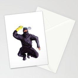 Bathroom Ninja Stationery Cards