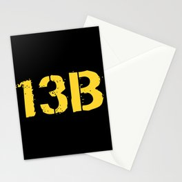 13B Cannon Crewmember Stationery Cards