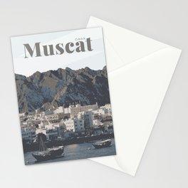 Muscat Oman Stationery Cards