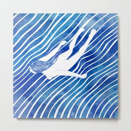 Water Nymph LXIV Metal Print