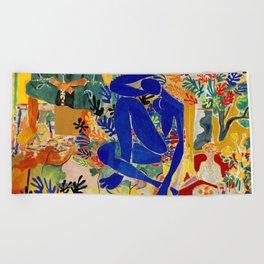 Matisse el Henri Beach Towel