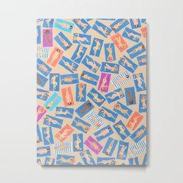 NUDE BEACH, by Frank-Joseph Metal Print