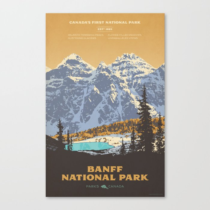 Banff National Park Leinwanddruck