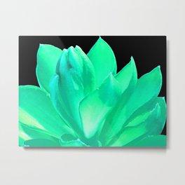 Mint Sea Foam Green Dream Metal Print