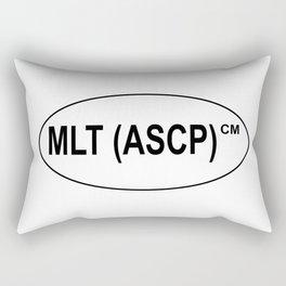 MLT (ASCP)CM Certification Rectangular Pillow