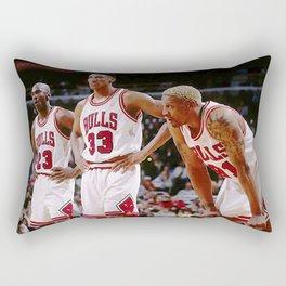 Mi-chael Jordan Scottie Pippen  Rectangular Pillow